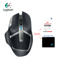 Logitech G602 Wireless 2.4G Gaming Mouse Gamer Mice 2500DPI Laser Ergonomic Support Official Verification with Free Gift
