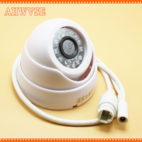 2 8mm Wide View IP Camera 720P 1080P Indoor Dome Cam IR Lens 2MP IP CCTV