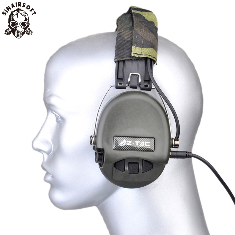 Z Tactical Sordin Tactical Headsets VER Leather Headband Style Get Rid 3 5 MM Headset Jack