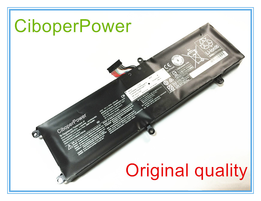 100% Original L14S4PB0 battery for Savers 14 series laptop 15v 60wh free shipping