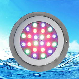 Image 5 - Plastic RGB LED Underwater Light with Remote Controller for Swimming Pool Pond 12V Marine Boat Yacht