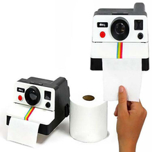 Creative Home Practical Paper Towel Storage Box Retro Simple Style Cute Camera Shape Holder Toilet
