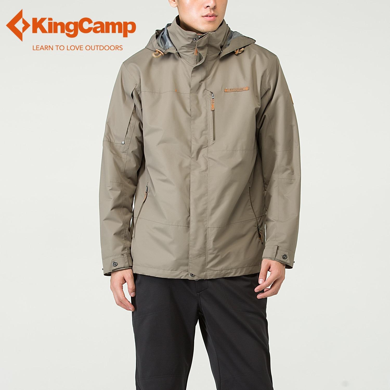 KingCamp Al Aire Libre Hombres Del Deporte de Escalada Impermeable Senderismo Ro