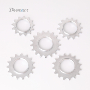 Deemount 13T/14T/15T/16T/17T/18T Fixed Gear One Speed Bicycle Wheel Cogs Sprocket & Lockring For Fixie Track Bike Hub(China)