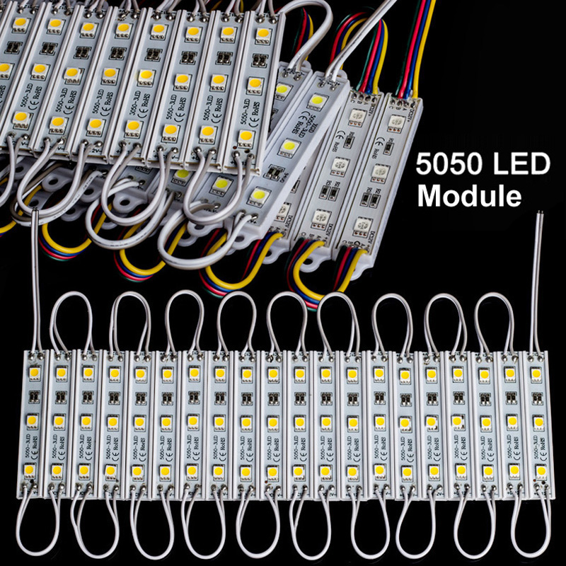 DC12V один Цвет/RGB SMD5050 IP65 модуль свет для знак письмо подсветка коробка рекламы светлая коробка