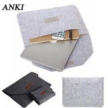 남성 여성 펠트 노트북 14 15.6 인치 슬리브 가방 애플 맥북 에어 프로 레티 나 11 12 13 15 가방 xiaomi 아수스 hp 노트북 케이스