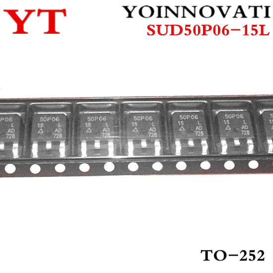 Free shipping 600pcs lot SUD50P06 15L SUD50P06 50P06 15 50P06 TO 252 IC Best quality