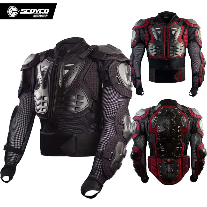 SCOYCO AM02-2 Motocross Body clothing equestrian motorcycle protector moto protecto off-road motorbike chest armor jacket herobiker motorcycle jacket body armor motocross protective gear motocross off road racing vest moto armor vest black and white