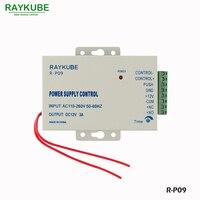 RAYKUBE Zugangskontrolle Stromversorgung Controller Ausgang DC 12 V 3A/Eingang AC 110 ~ 240 V R P09|Access Control Zubehör|Sicherheit und Schutz -
