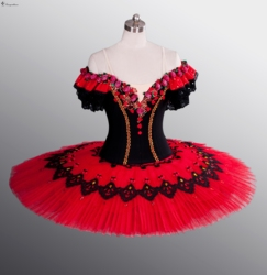 Red ballet tutu adult classical ballet tutu for performance professional ballet tutu for girls dance costumes.jpg 250x250