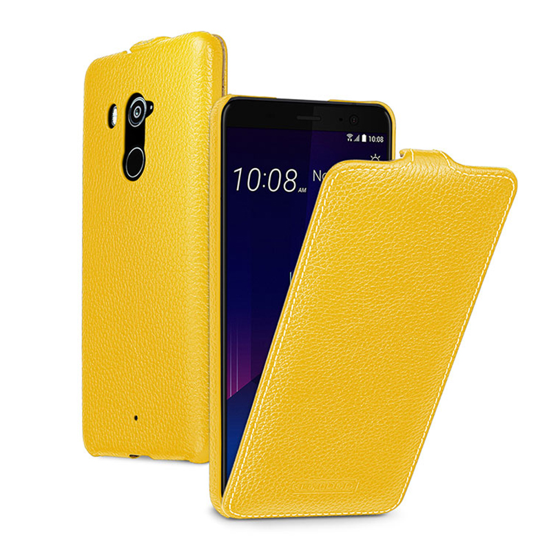 Business Flip Stand Cases for HTC U11 case Luxury Genuine Leather Phone Protective Bag Cover for