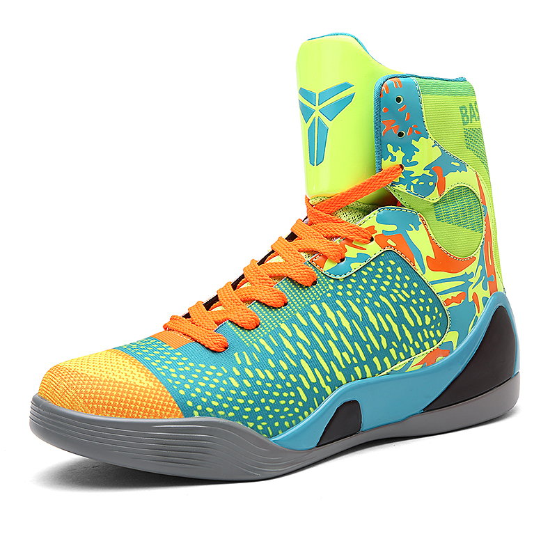 3edcf244f1ff26 2017 new basketball shoes men women sport air sneakers high ankle Boots  Trainers Zapatillas Retro Basket james size 9 10 11-in Basketball Shoes  from Sports ...