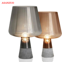 Nordic desk Lamp creative cement led table lamp for Bedroom living room bedsidehome decoration E27 modern Table Lamps