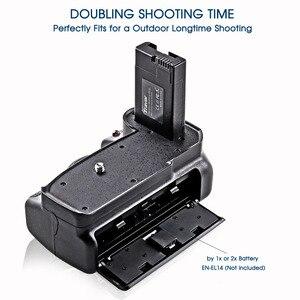 Image 4 - Travor Nuovo Arrivo Battery grip holder per Nikon D3400 DSLR di lavoro Della Macchina Fotografica con Uno o Due EN EL14 Batteria