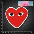 Бесплатная доставка 2016 новый стиль ПВХ наклейки водонепроницаемый УФ-доказательство, красное сердце 21 BLINGIRD