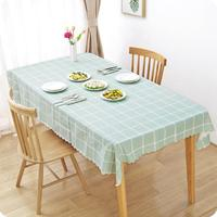 Outdoor Decoration Pastoral PVC Placemat Household Waterproof And Oilproof Table Cloth Rectangular Coffee Table Cover