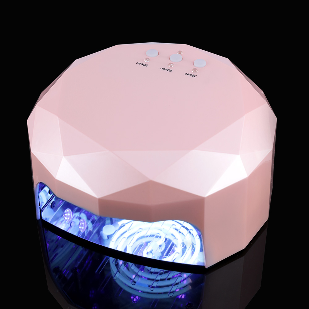 LED Nail Lamp Nail Dryer Diamond Shaped 48W Long LIife LED CCFL Curing Nail Tools for UV Gel Nail Polish Art Tools led lamp nail art dryer nail lamp watch shaped long life 9w led curing for gel polish nail art beauty care manicure tools