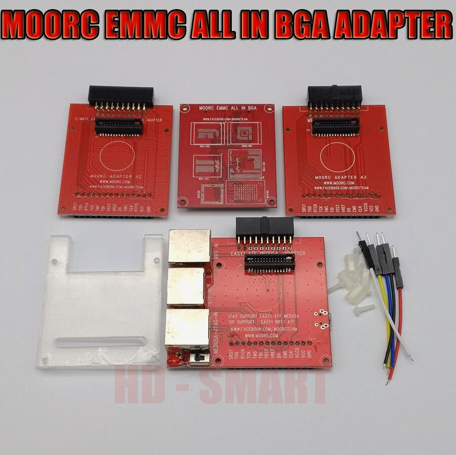 New Version JTAG ISP Adapter ALL IN 1 For RIFF EASY JTAG  EASY JTAG MEDUSA EMMC E-MATE BOX ATF BOX Free Shipping