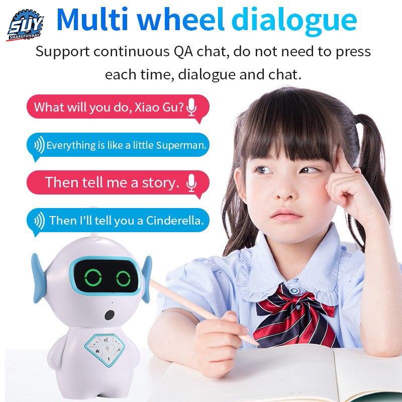 Robot enfants Wifi histoire machine dialogue vocal AI compagnon robot chien - 6
