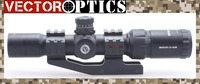 Вектор Оптика Mustang 1,5 4x30 компактная съемка прицел с подсветкой шеврон Красный точка зрения Бесплатная Гора и доставка
