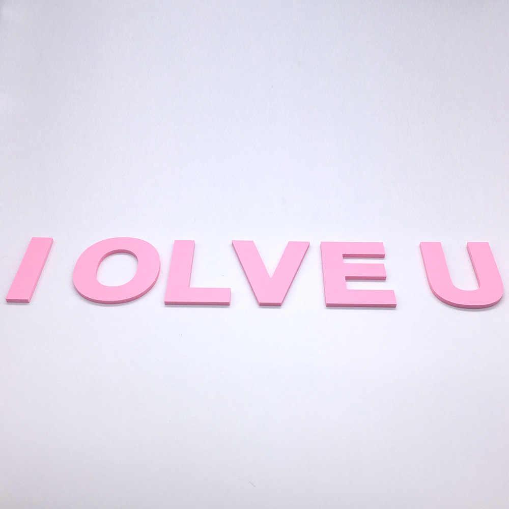 DIY 3D Розовая столичная английская стена для писем наклейки гостиная спальня задний план настенный домашний декор Съемная стена ПВХ наклейки