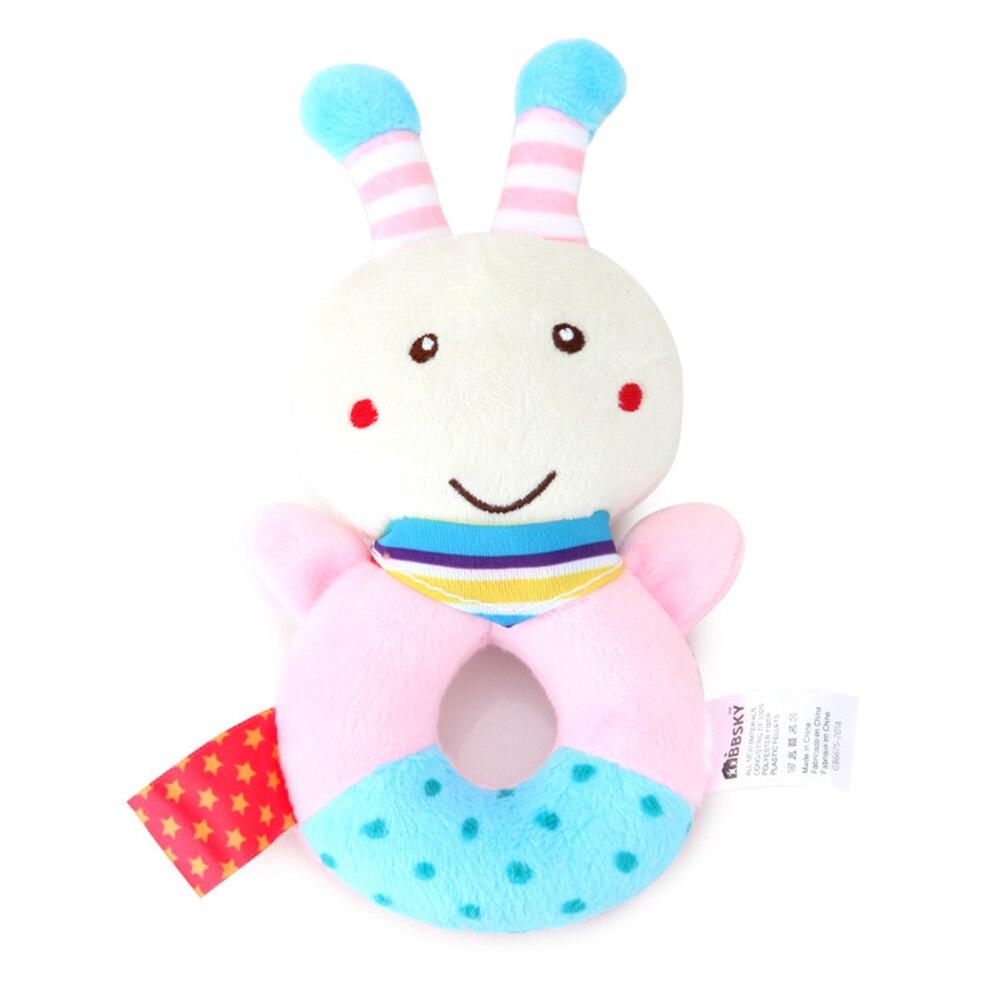 Детские погремушки Fulljion, развивающие игрушки для детей, Прорезыватель для зубов, Колокольчик для малышей, детская коляска, подвесные куклы - Цвет: rattle bee