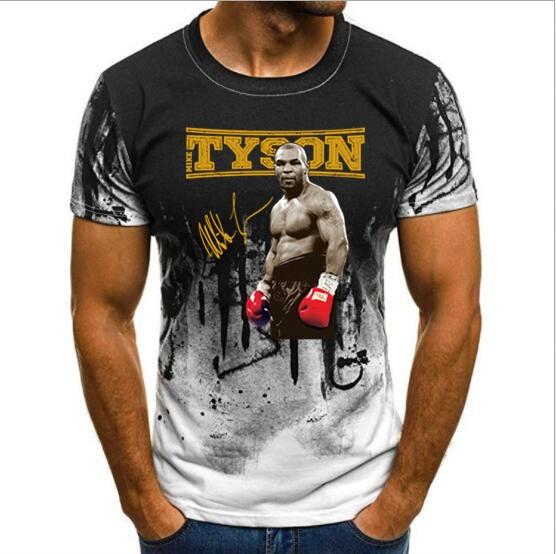 Men's   T     shirts   Print   T  -  shirt   Summer Mike Tyson Iron Mike Boxen Boxing Champion   T  -  Shirt   alle Groben NEU Print   T  -  shirt   Summer