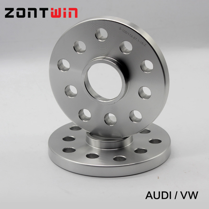 Audi 5x100 a 5x112 Asiento 20mm hubcentric coche Pcd Adaptadores