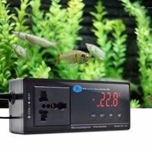 Цифровой светодиодный терморегулятор Термостат для аквариумная рептилия UK/EU/US JUL07 Прямая поставка