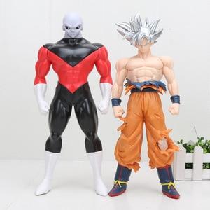 Image 2 - Dragon Ball Super Ultra Instinct GOKU Jiren Figur Migatte Action Figur Spielzeug Modell Goku Weiß Gott DBZ Figuren