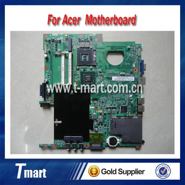 ФОТО 100% working Laptop Motherboard for ACER EX5630 TM5230 5630EZ GM45 48.4Z401.01M MBTRM01001 System Board fully tested
