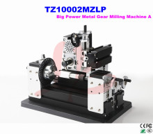 Electroplated Metal type! TZ10002MZLP big power mini lathe metal gear milling machine A for DIY amateur