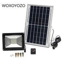 Led Flood Light Outdoor Spotlight solar Schijnwerper afstandsbediening licht sensor10W 20 w 30 w 50 w RGB IP65 Waterdicht 220 v
