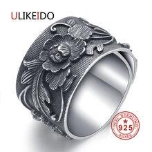 Ulikeido настоящие 999 стерлингового серебра кольца для женщин