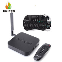 Minix neo u1 android tv box + israel hebräisch rii mini i8 + Air Maus tastatur Amlogic S905 Quad Core 2G/16G 802.11ac 2,4/5 GHz WiFi(China (Mainland))