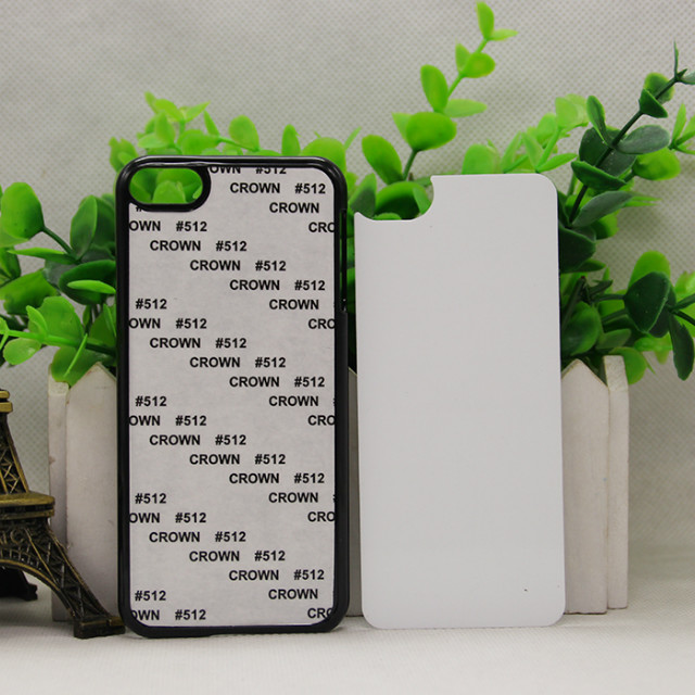 2D Sublimation Blank case for ipod Touch 6 PC sublimation cover metal insert glue sticker 200pcs/Lot
