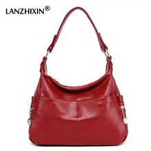Lanzhixin Famous Brand Designer Handbags High Quality Women Leather Handbags Shoulder Bags Black Zipper Bags Top-Handle Bags 990