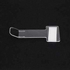 Image 3 - 1Pc רכב רכב חניה כרטיס בעל היתר מדבקת השמשה חלון אטב ערכת רכב אביזרי רכב חניה כרטיס קליפים
