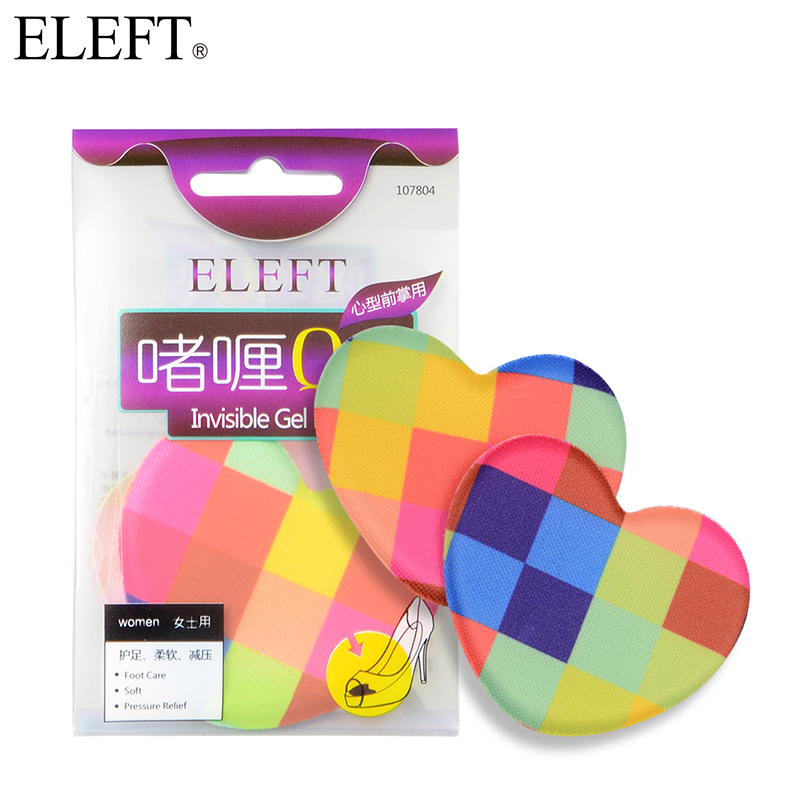 ELEFT silicone gel ball Forefoot pad pads insoles inserts for Woman Female high heels dance shoe Sandals shoes accessories 2 pairs foot care gel silicone dots pad pads insoles feet protect for woman shoes high heels blister shoe heel shoes accessorie