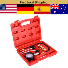 цена на Type Pressure Gauge Tester Kit Petrol Engine Compression Tester Test Gauge Kit Car Motorcycle Garage Tools Car Diagnostic Tool