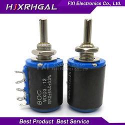 2 шт. WXD3-12 1 Вт 10 к ом WXD3-12-1W 5 колец мульти-круг прецизионный провод-намотанный потенциометр