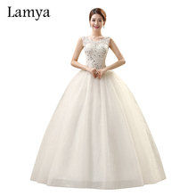 2019 Cheap Wedding Dress Sexy Lace Vintage Bridal Gown Customized Dresses Vestido De Noiva bridal dresses satin