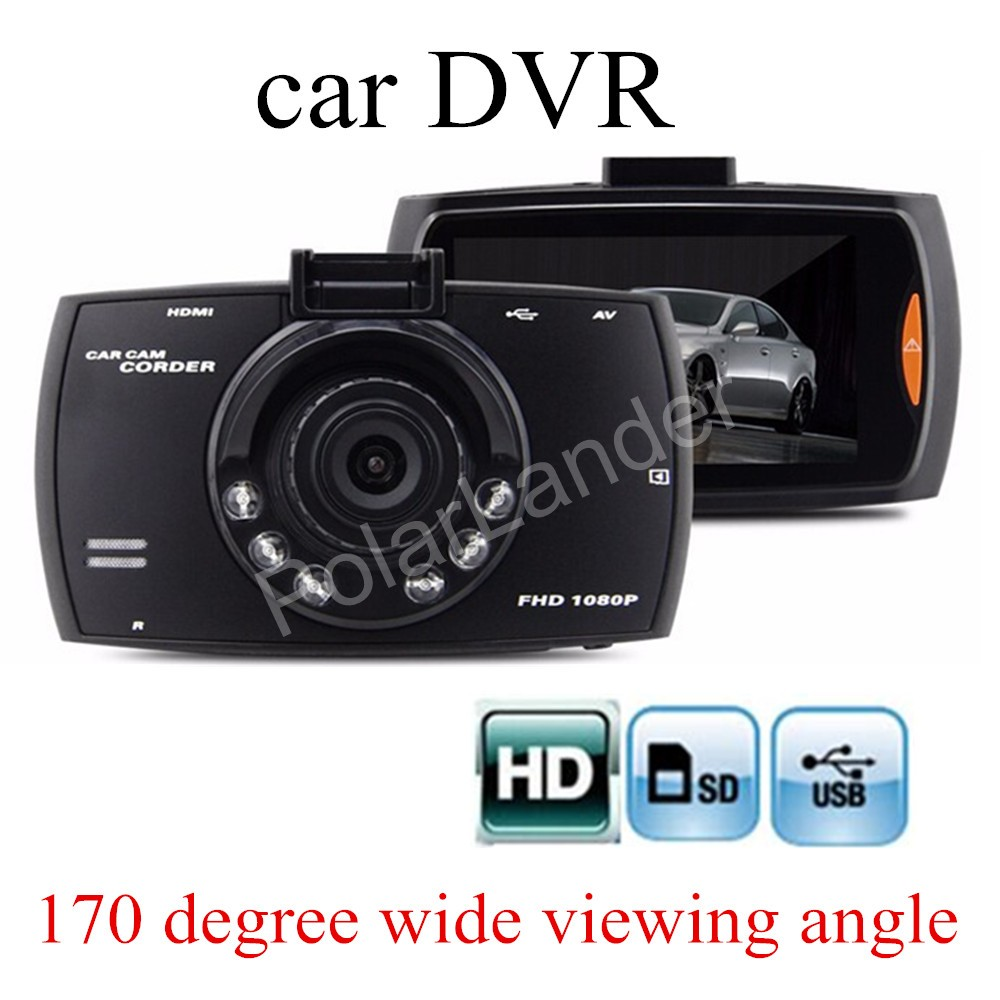 free shipping Car DVR G30 2.7 inch Car Camera Recorder HD 170 degree Wide viewing Angle Dash Cam Recorder Night Vision