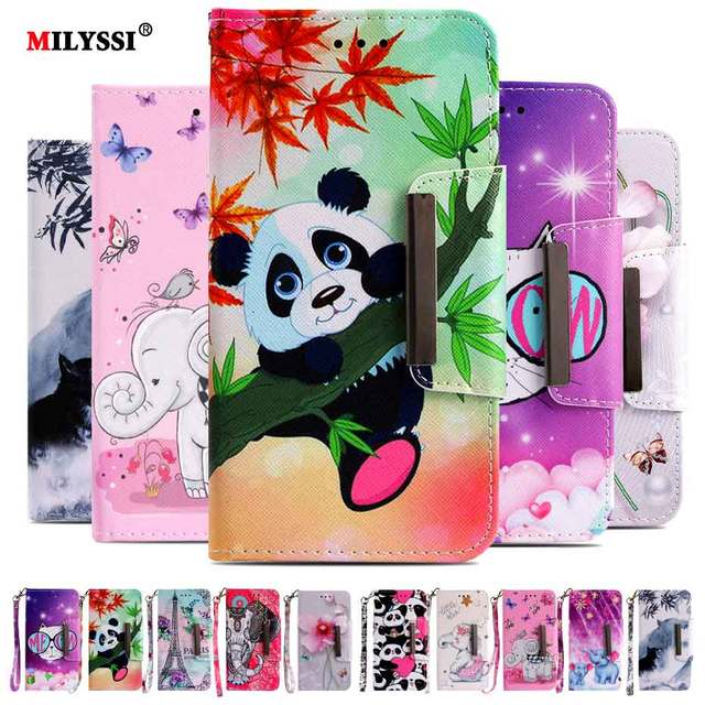 best cheap 45277 9346a US $2.54 15% OFF|Aliexpress.com : Buy Milyssi PU Leather Wallet Case For LG  Stylo 4 Case 6.2