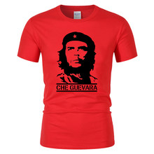 2018 Summer Newest Fashion Che Guevara Printed T Shirt Men Cool Design High Quality Tops Custom T-Shirt Hipster Tees(China)