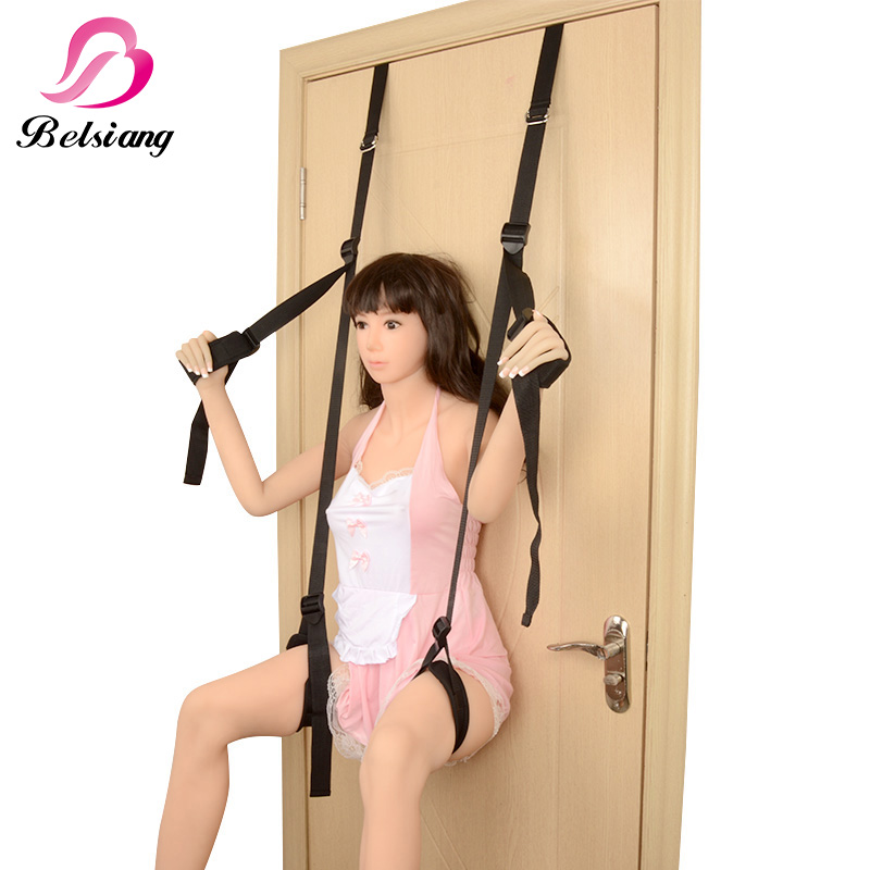 Adult Sex Swing Door Stand Women Fetish Bdsm Bondage Kit Gear Restraint Set EroticToy Shop Sex Furniture For Couple Sex Products