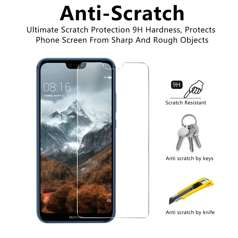 High Quality Tempered Glass for Huawei P20 Lite P20 PRO Screen Protector 9H 2 5D Protection Film for Huawei P20 NOVA 3E in Phone Screen Protectors from Cellphones Telecommunications