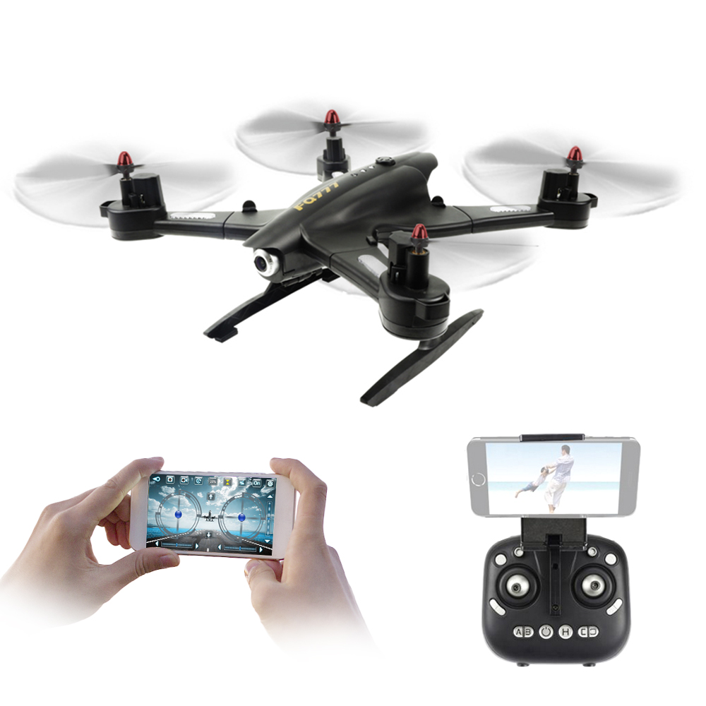 FQ777 FQ02W 0.5MP caméra Wifi FPV Robot transformable pliable 2.4G 6 axes Gyro g-senseor RC Selfie Drone RTF quadrirotor hélicoptère