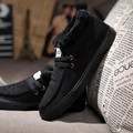 Men's cotton-padded shoes winter shoes high-top shoes plus velvet warm shoes the trend of fashion male casual shoes