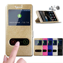 For Meizu 15 Case 5.46 Quick Answer View Window Stand Flip Cover PU Leather Meizu15 Phone